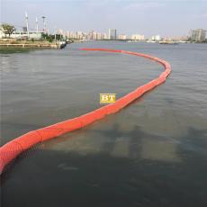 研发升降式拦污漂悬浮式拦截设施