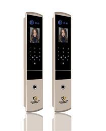 锌合金一体铸造全自动人脸识别锁SV620
