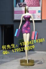 供应商业街抽象现代都市人物雕塑厂家