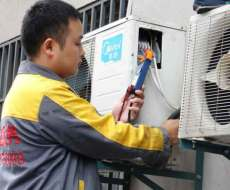 上海闵行区空调维修 拆装 加液
