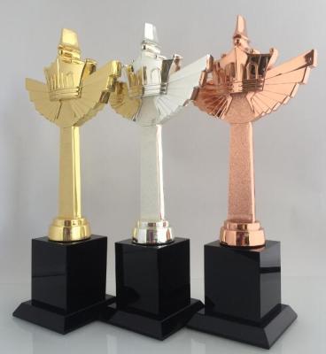 小金人系列奖杯 体育奖杯系列 金属奖杯
