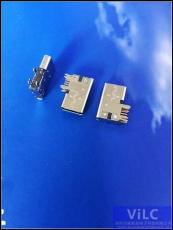 側插式大電流typeC母頭-手機尾插-快速充電
