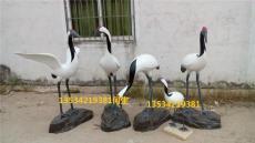 深圳园林工程玻璃钢仙鹤雕塑厂家