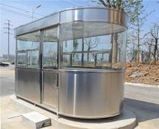 上海不锈钢岗亭参照 小区保安岗亭可按客户