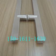 方管不锈钢拉手现代中式无框玻璃门拉手定制