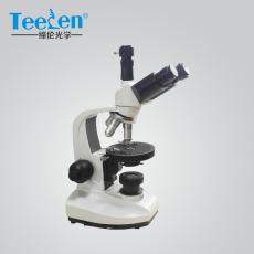 武汉偏光显微镜XP-200B三目简易型