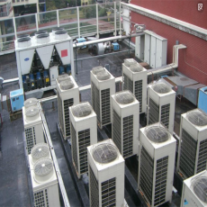 山东肠衣食品公司120吨空气能工业用水工程