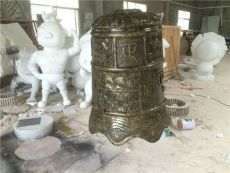专业玻璃钢仿古青铜复古鼎模型雕塑定制厂家