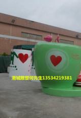 河南门口迎宾宣传广告模型玻璃钢咖啡杯雕塑