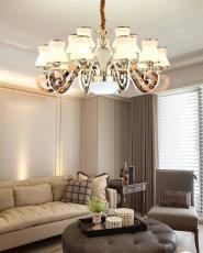 嘉兴市客厅风水灯饰 吊灯图片 吸顶灯