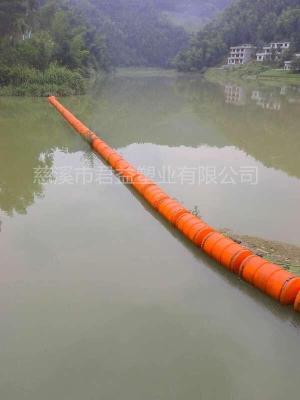 湖南-河道拦污浮筒 可挂网