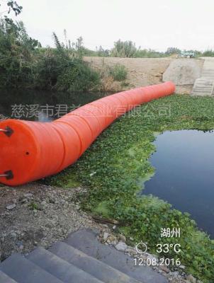 水面阻拦垃圾浮筒图片