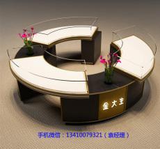 上海远泰展示珠宝圆型展柜源头工厂价格实惠