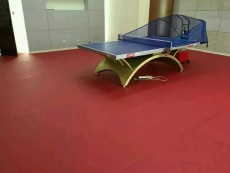 乒乓球pvc地板厂家