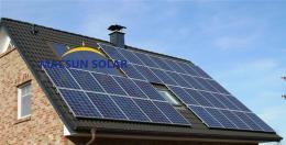 太阳能屋顶并网系统