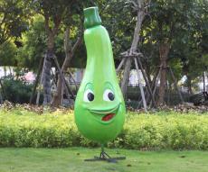 供应江苏生态园彩绘树脂瓜果蔬菜模型