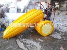 深圳儿童公园游乐设施玻璃钢玉米滑滑梯雕塑