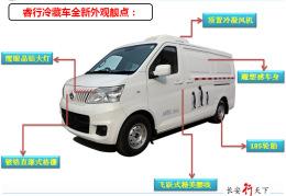 长安M80冷藏车多少钱一台