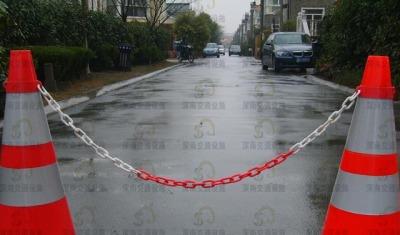 路锥塑料链条 路锥塑料链条的图片大全 路锥