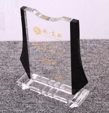 水晶授权牌成都水晶授权牌供应商水晶奖牌厂