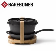 戶外Barebones鑄鐵鍋平底鍋無涂層不粘鍋