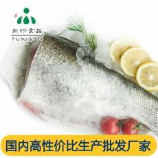 新鮮冷凍鰱魚身 安徽三珍食品廠家供應