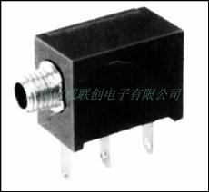 供应2.5耳机插座 90度插板DIP PJ-213BM螺口