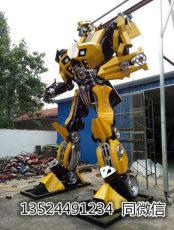 上海零爵机器人模型大黄蜂雕塑道具