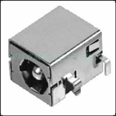 全铁壳镀镍款DC电源插座 DC-044B 沉板DIP
