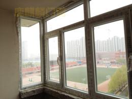 洛阳铝合金断桥铝门窗封阳台平开窗价格