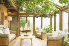 洛陽戶外玻璃房遮陽防曬雨棚露臺陽光房安裝