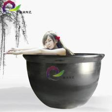 陶瓷泡澡缸 温泉陶瓷洗浴大缸 1.2米洗浴缸