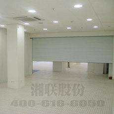 双层铝合金型材结构湘联卷帘门