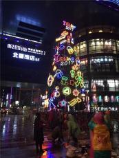 广西南宁定制led柔性霓虹灯发光字广告牌厂
