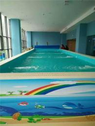 大型钢结构模块组装式泳池恒温可拆装定做
