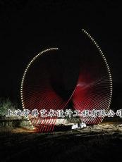 上海雕塑案例异形管景观雕塑造型加工制作