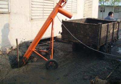 齿轮式出粪机 生产抽粪机 铲粪机 自动装粪