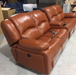 私人影咖沙发 头等功能舱影音室沙发厂家