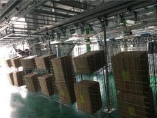 服装行业智能工厂--静态挂装仓储区出库