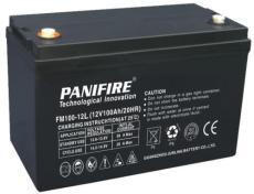 力仕顿PANIFIRE蓄电池FM100-12L 12V100AH