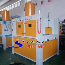 总工位32个喷砂工位8个的转盘式自动喷砂机