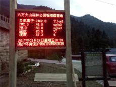 广东旅游景区公园负氧离子监测系统生产厂家