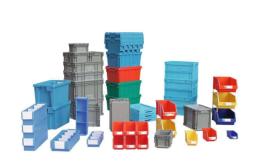 北京EU物流箱汽车配件门板车架塑料周转箱