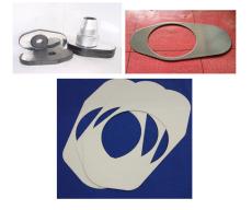 1401耐火耐高温材料钢铁设备滑板贴面接口垫