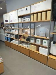 小米展柜制作厂家新款小米配件柜规格及图片