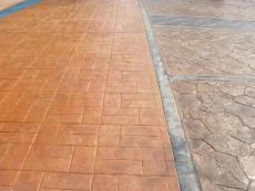 南京市溧水街道水泥压模地坪多少钱
