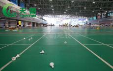 羽毛球場館防滑耐磨運動地膠PVC運動地板