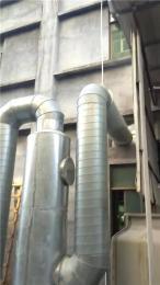 深圳观澜通风管道排气管道各类排烟管道安装