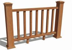 福建云南贵州景观木塑木护栏围栏栅栏包安装