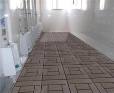 阳台庭院花园卫生间地板塑木塑地板DIY地板